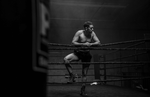 Aaron Swenson In Boxing Ring