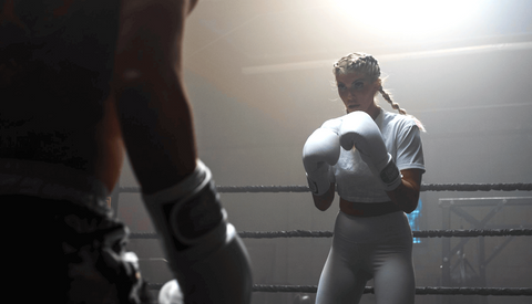 Shanie Smash Boxing In a Ring