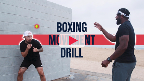 Boxing Footwork Drill