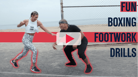 Boxing Partner Footwork Drills For Defense and Sparring