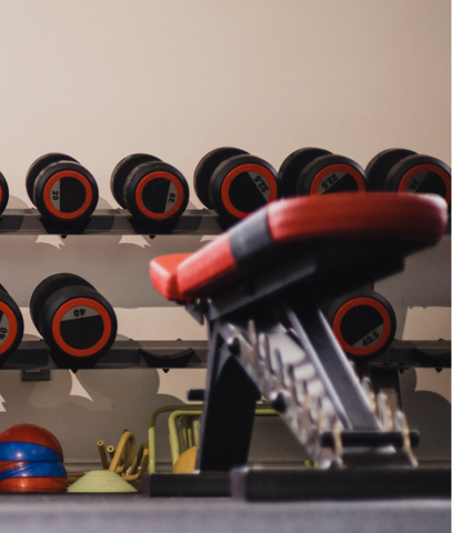 Cleaning Your Free Weights and Workout Bench