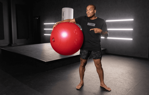 FightCamp Trainer Flo Master 5 Stability Ball Exercises