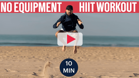 HIIT Body Weight Workout   10 Minute Summer Fitness Training