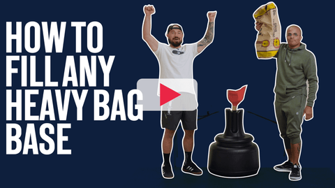 How To Fill Your Heavy Punching Bag Base