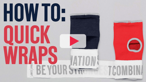 How To Put On Boxing Quick Wraps