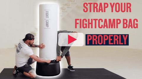 How To Attach Your Heavy Punching Bag To The Base
