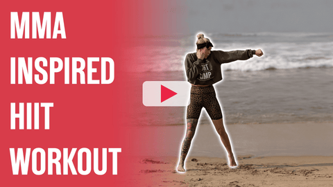 Shanie Smash's MMA Inspired HIIT Workout Video