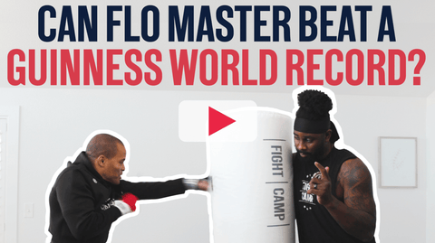 Most Punches Thrown In 1 Minute Guinness World Record Attempt
