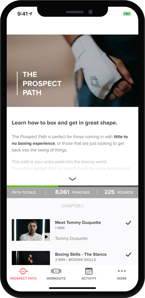 FightCamp App Update: The Prospect Path 2 0
