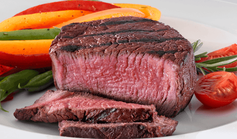 Broiled Sirloin Steak For Protein