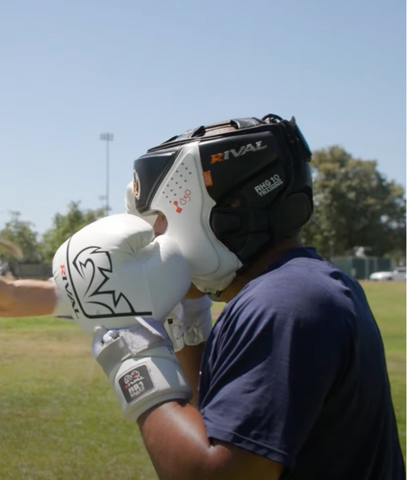 Boxing Sparring Tip #3 - Keep Your Head Up