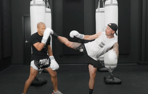 The Question Mark Kick In Kickboxing