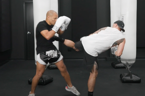 The Spinning Back Kick In Kickboxing