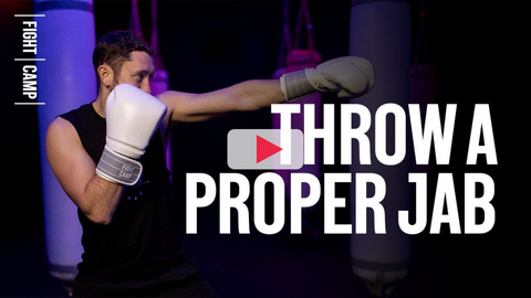 Tommy Duquette Showing How to Throw a Proper Jab