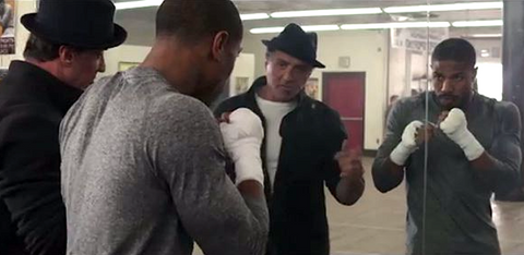 """Creed movie scene - """"That's the toughest opponent you'll ever have to face"""""""