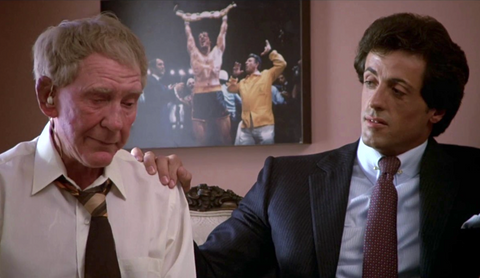 """Rocky III movie scene - """"You ain't been hungry since you won that belt"""""""
