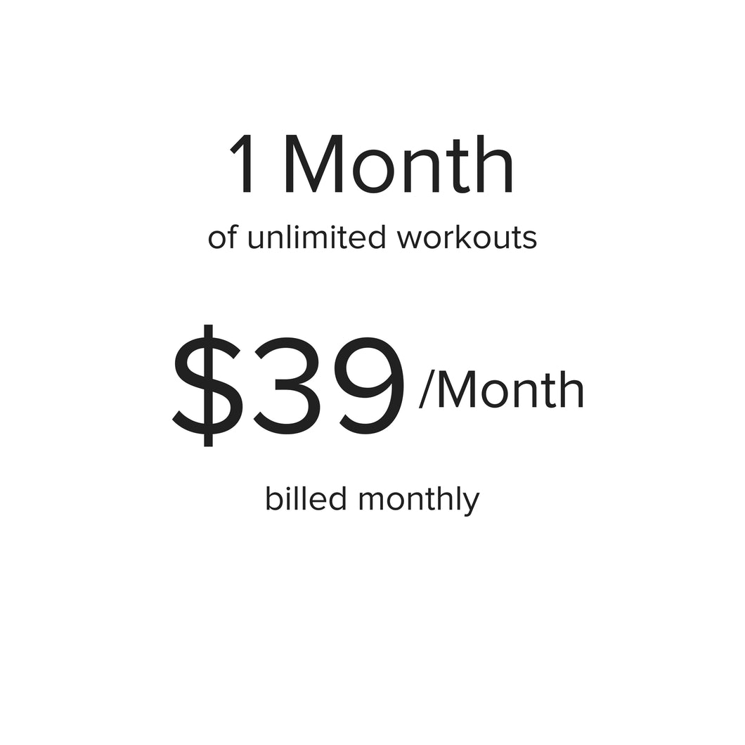 Subscription | $39.00 billed monthly after 30-day free trial