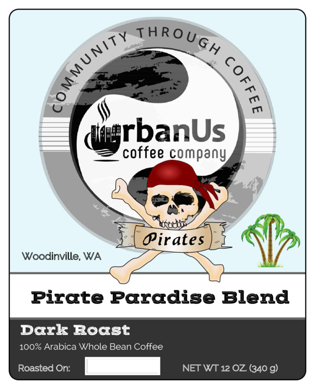 Beans - Paradise Pirate Blend - Wholesale*