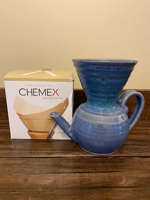 Blue UrbanUs Pour Over - Carafe