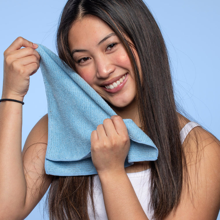 Bye-Bye Bacteria Face Cloth | Silver-ion