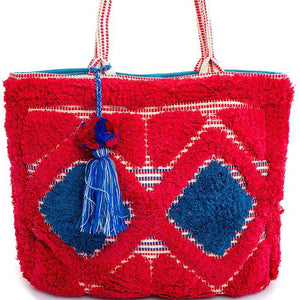 The Chic Soft Tote W/ Tassel