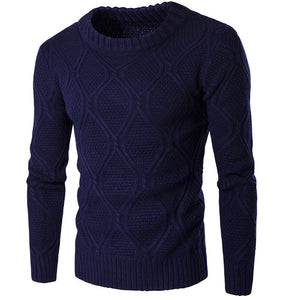 Men Casual Knit Sweater