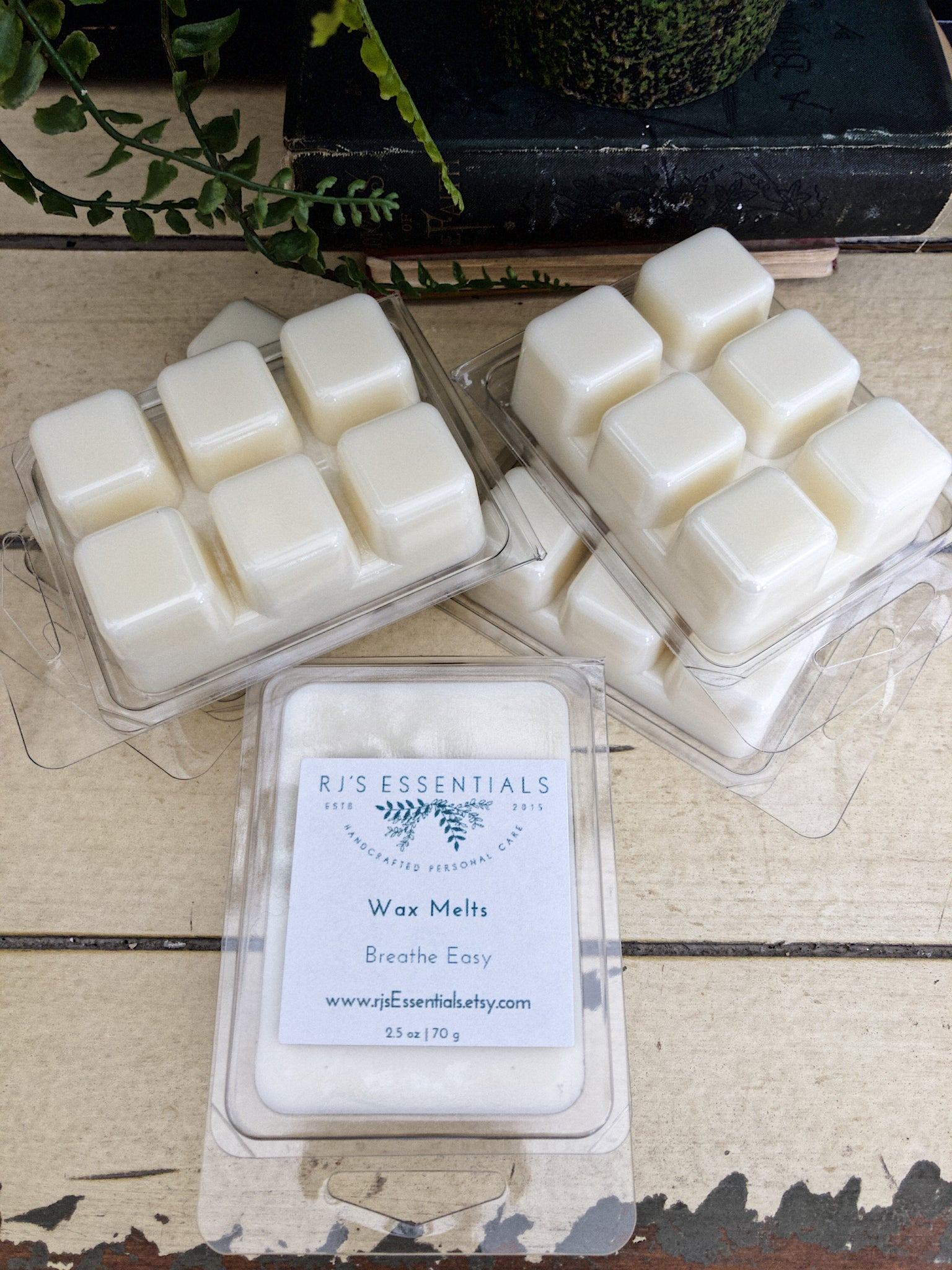 Coconut-Soy Wax Melt Clamshell | Choose your scent