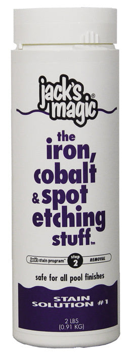 Jack's Magic the iron, cobalt & spot etching stuff 2lb