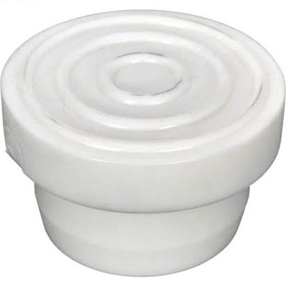 WRB100A White Rubber Bumper - Male