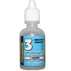 Poolmaster Test Kit Solution #3 Acid Demand - 1 oz