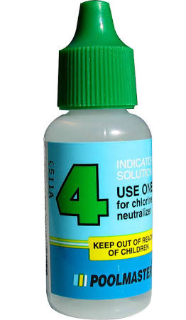 Poolmaster Solution #4 Chlorine Neutralizer 1/2 FL OZ