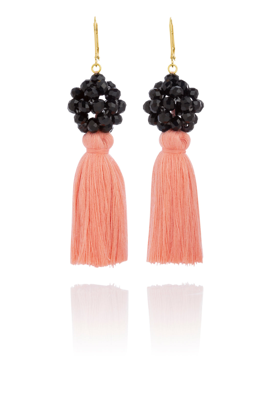 Earrings- Isabella Peach