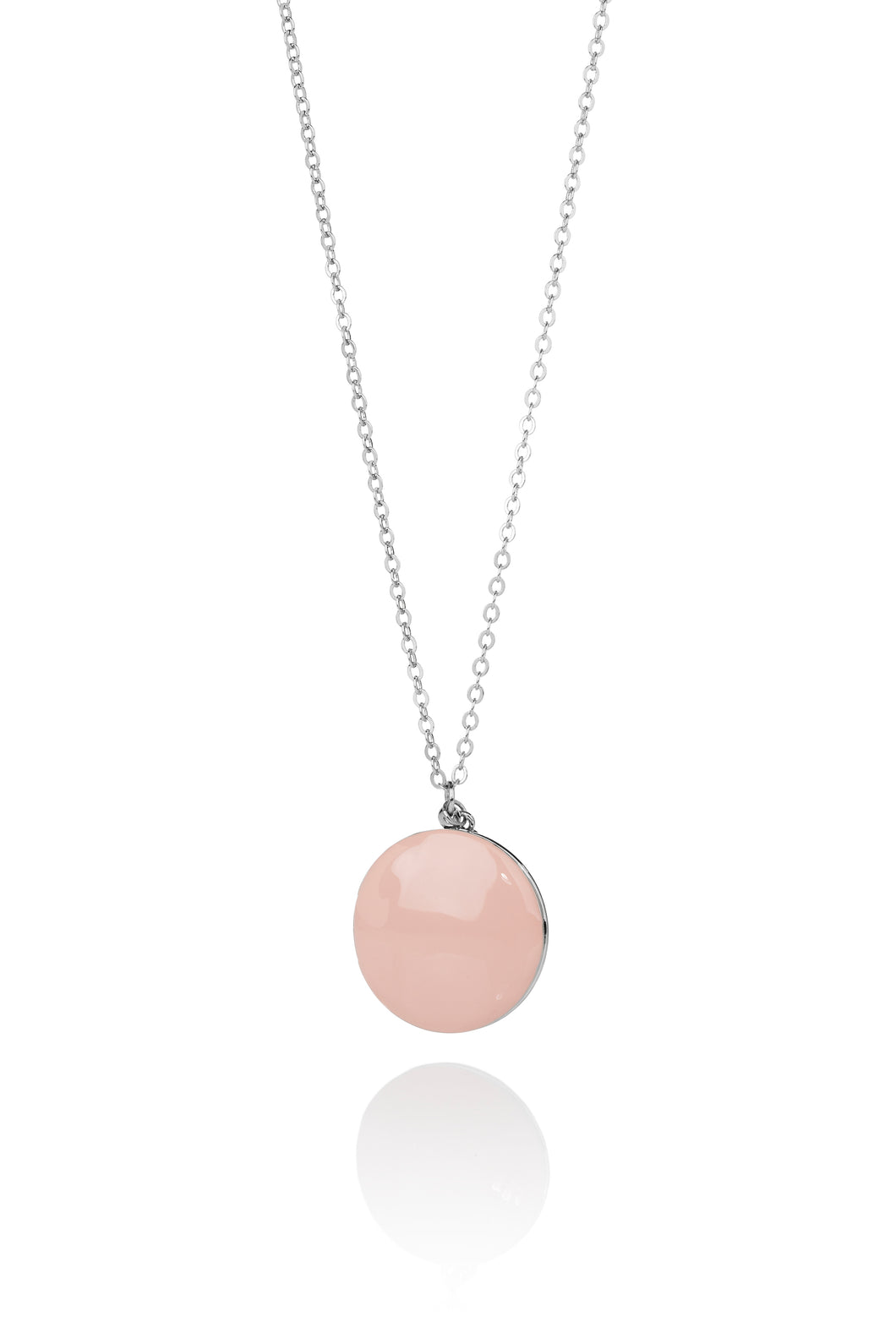 LOCKET DUSTY PINK