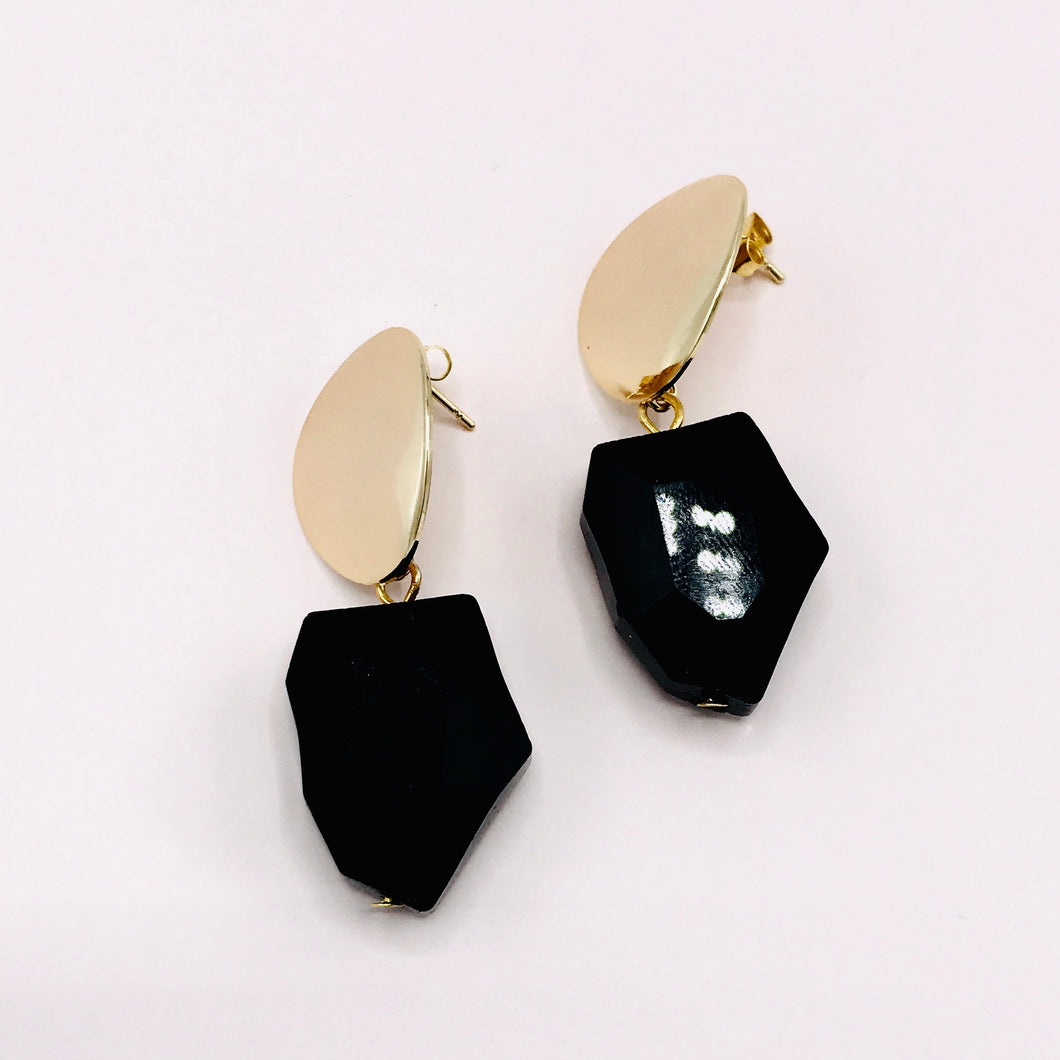 Earrings, Midnight Dance. Limited edition