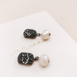 Earrings, Sparkly Pearl, Limited edition