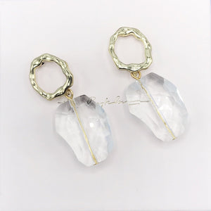 Earrings, Clear Limited edition