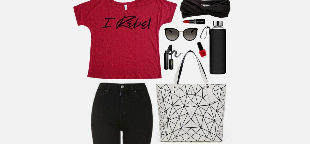 Geek Chic Outfit Inspiration: The Rebel