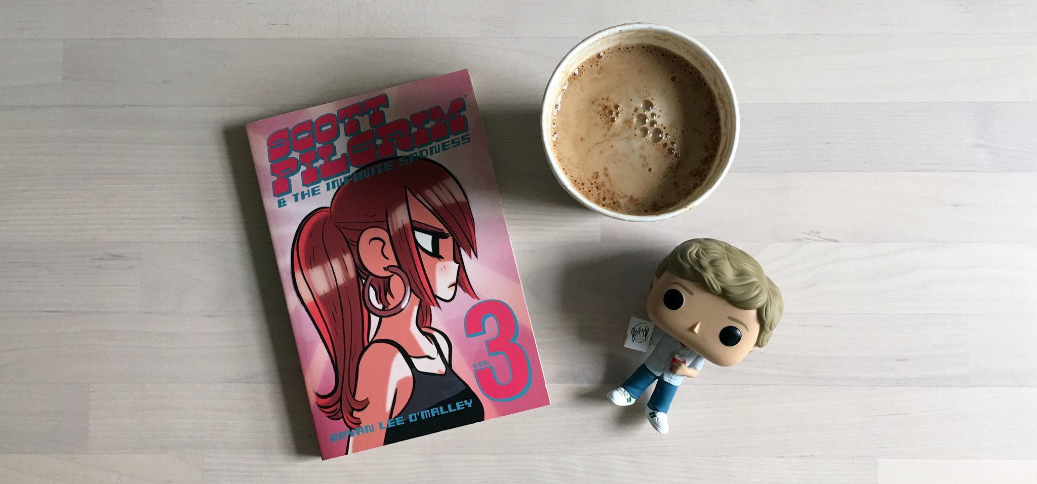 Coffee Break: Scott Pilgrim Volume Three