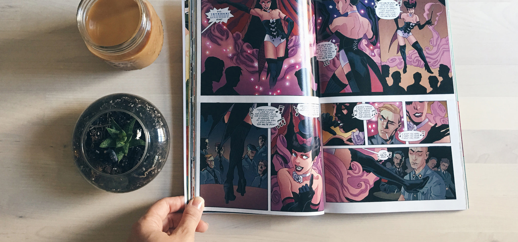 Coffee Break: DC Bombshells
