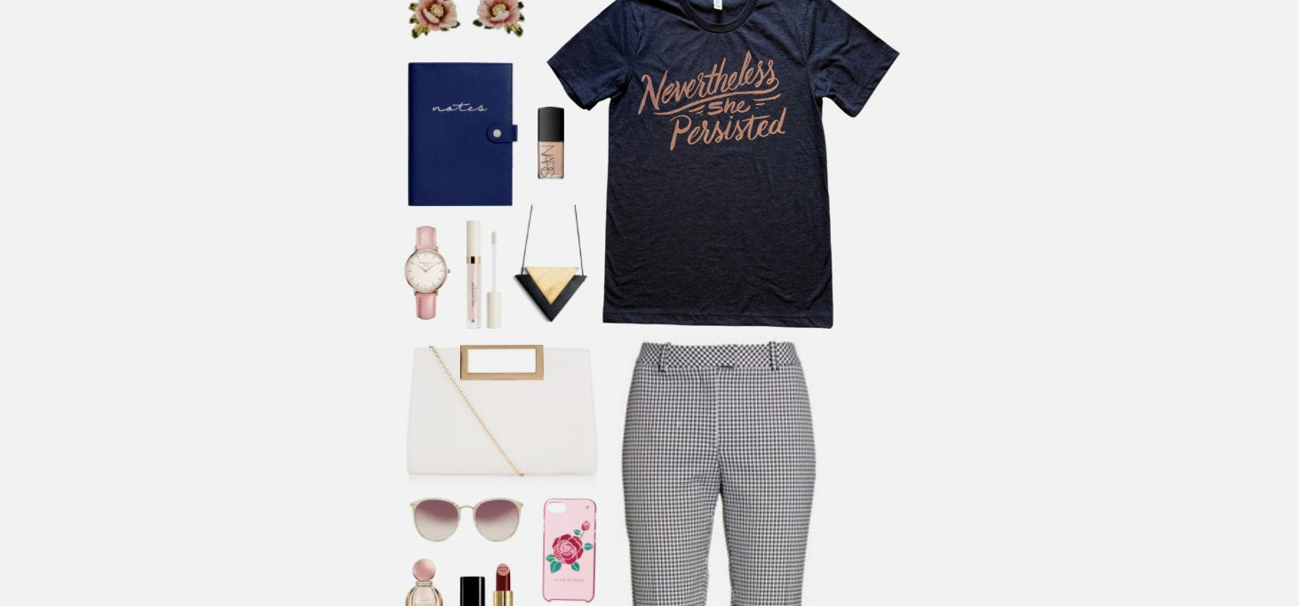 Geek Chic Outfit Inspiration: Persist.