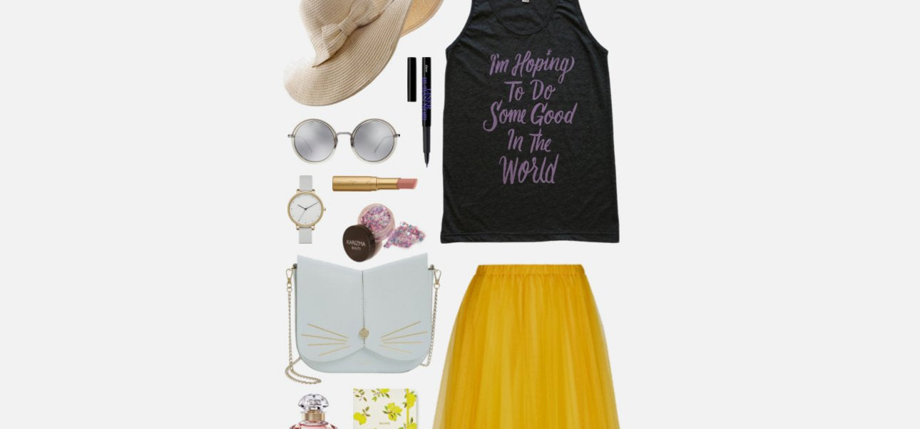 Geek Chic Outfit Inspiration: Do Some Good