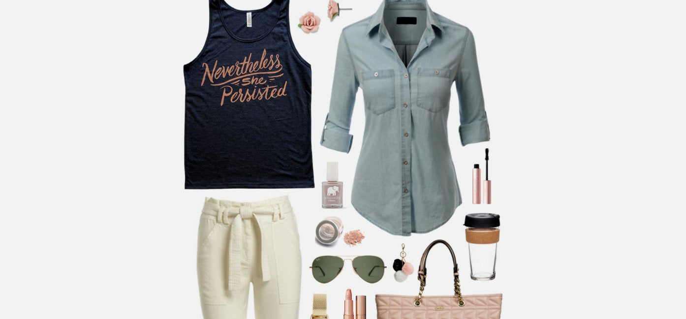 Geek Chic Outfit Inspiration: She Persisted