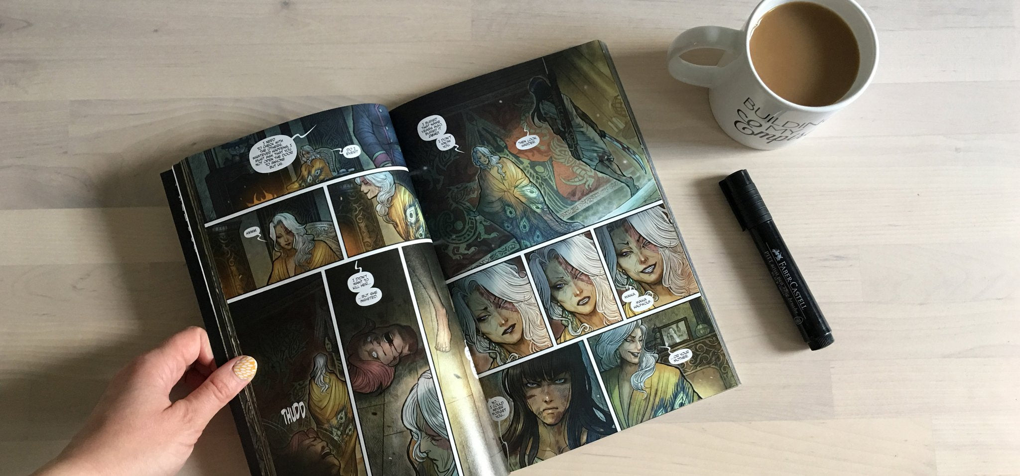 Coffee Break: Monstress Volume One