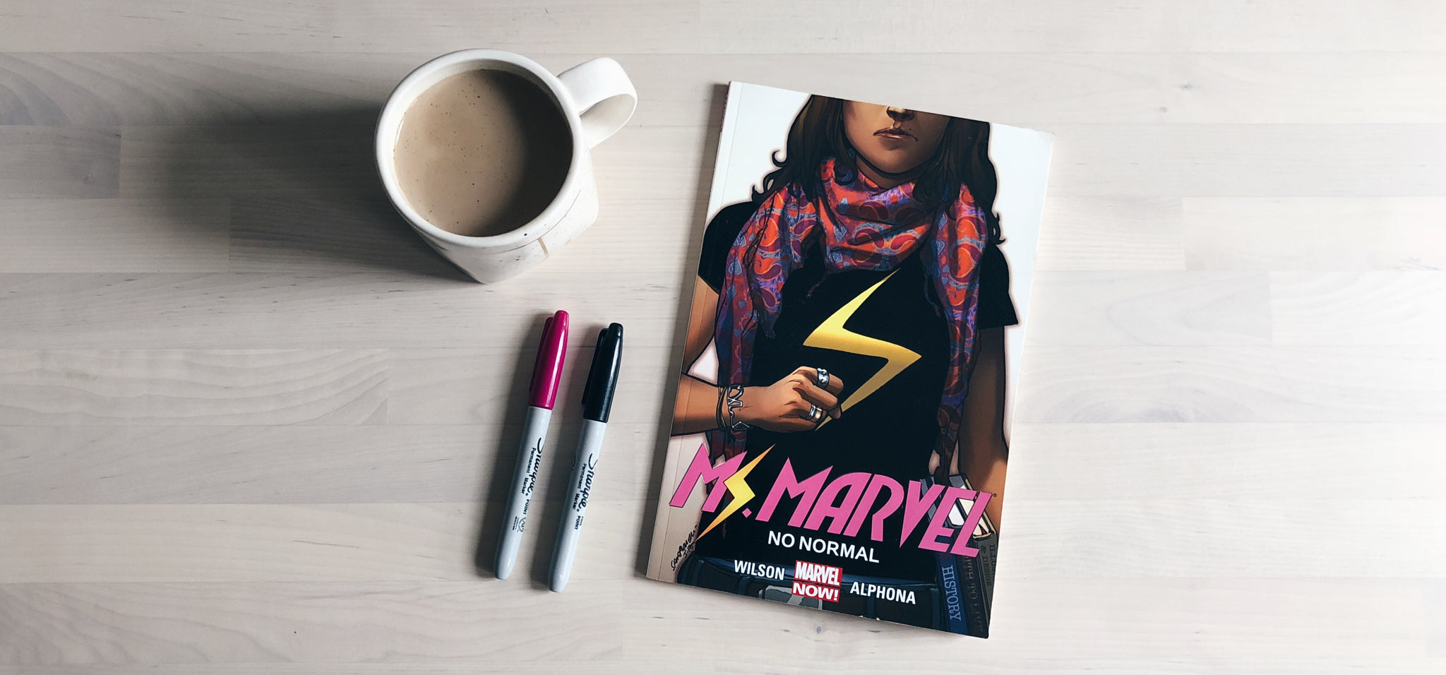 Coffee Break: Ms. Marvel Volume One