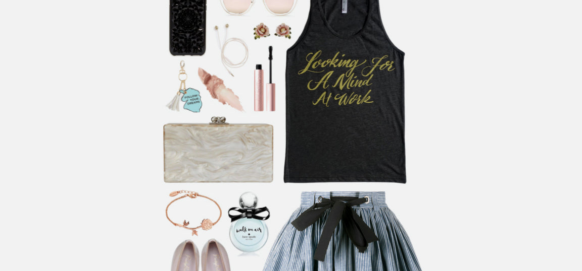 Geek Chic Outfit Inspiration: I'll never forget the first time I saw your face