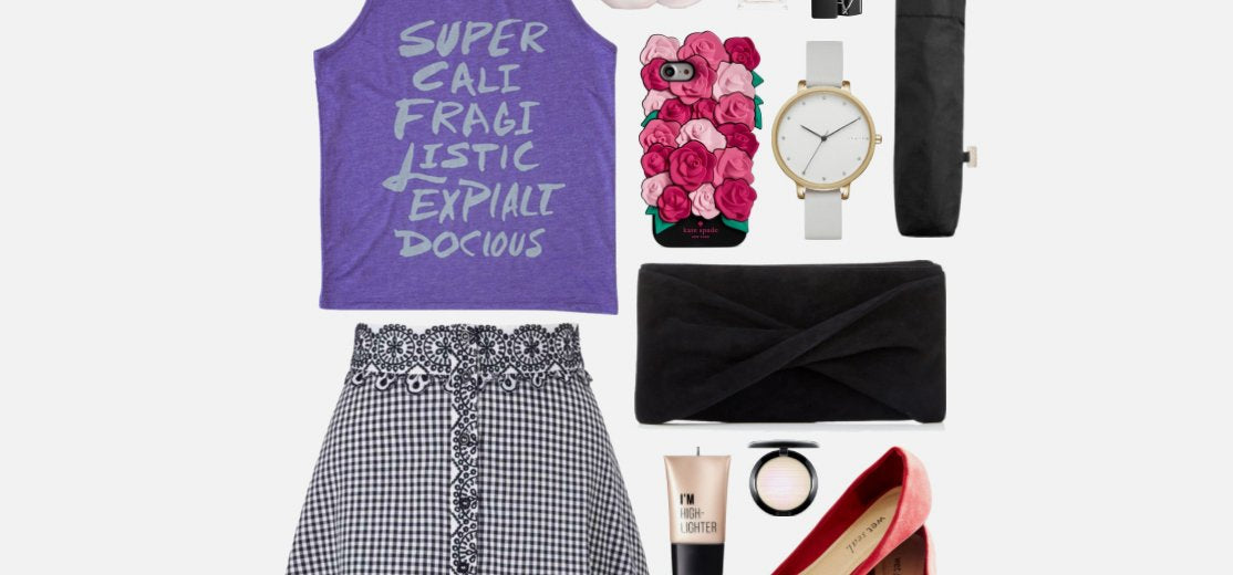 Geek Chic Outfit Inspiration: Modern Mary Poppins