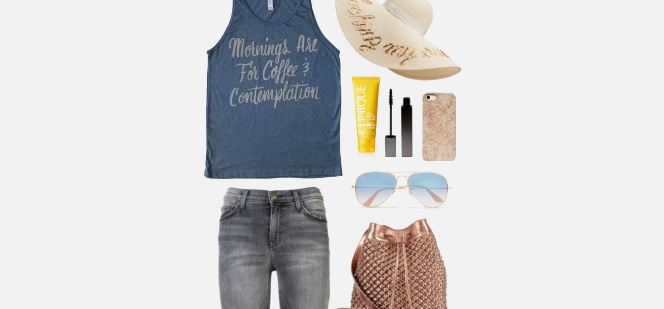 Geek Chic Outfit Inspiration: Coffee & Contemplation