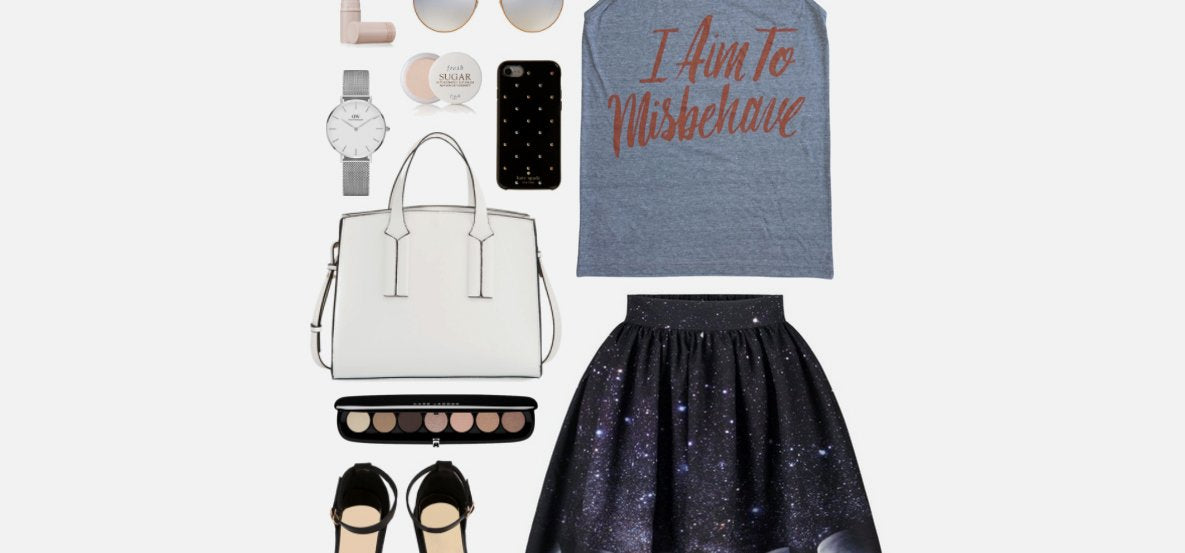 Geek Chic Outfit Inspiration: Aim to Misbehave