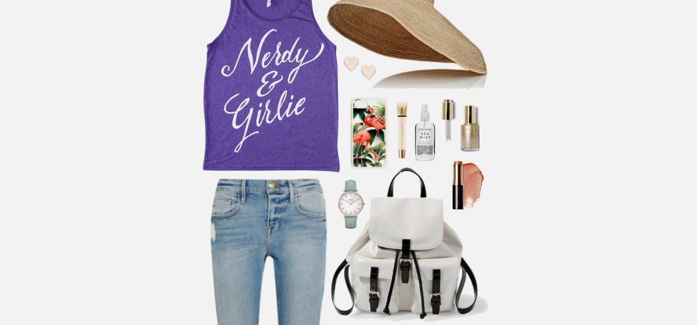 Geek Chic Outfit Inspiration: Nerdy & Girlie