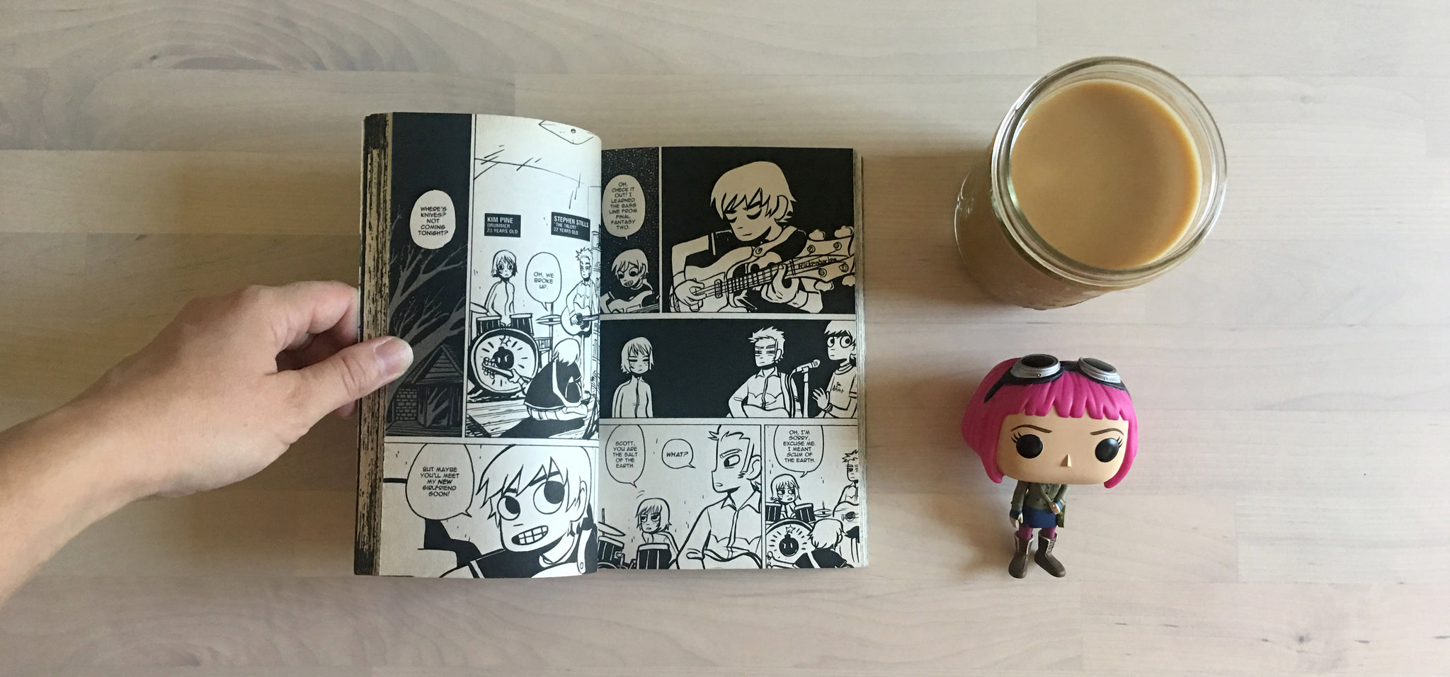 Coffee Break: Scott Pilgrim Volume Two